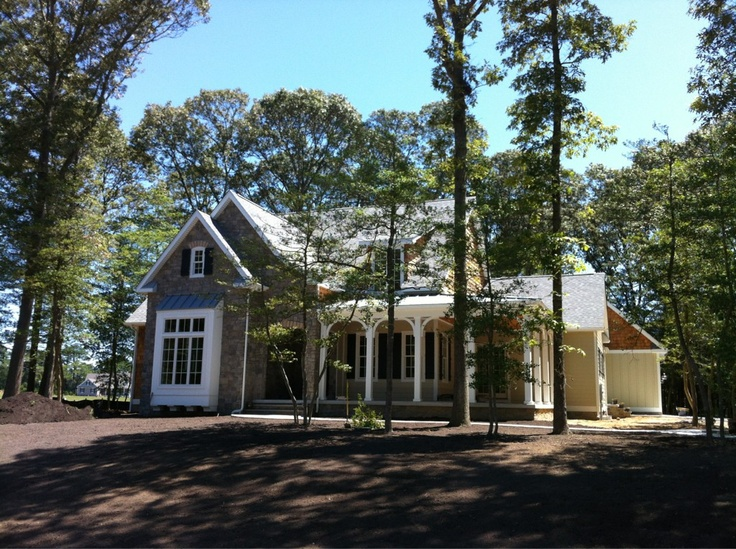 Actual build of the southern living elberton way house for Southernliving houseplans