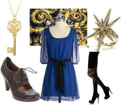 Dr. Who inspired dress.... want it!