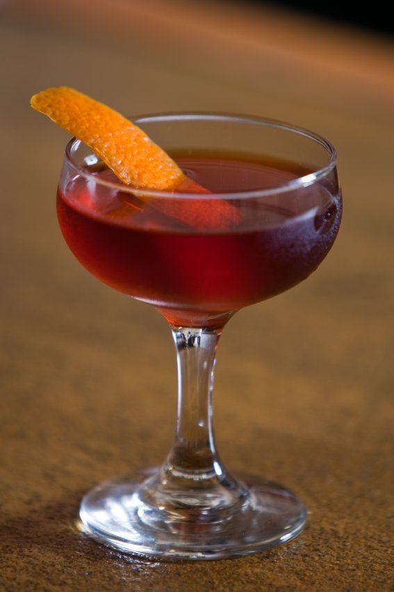 The Boulevardier - a negroni, but swapping gin for bourbon.