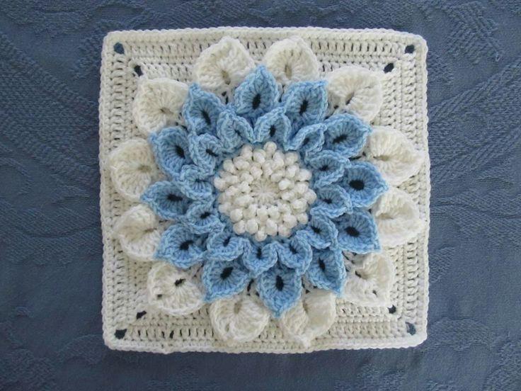 Crochet Crochet - Squares & Appliques Pinterest