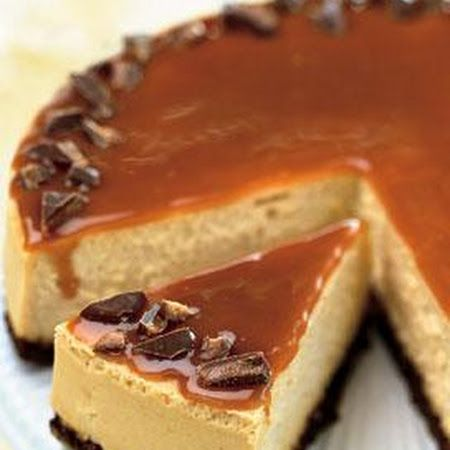 Toffee Crunch Caramel Cheesecake | recipes n more | Pinterest