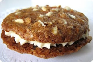 Inside-out carrot cake cookies | Marco | Pinterest