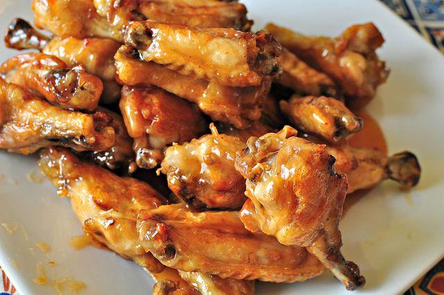 Crispy Asian Wings | Finger Food | Pinterest