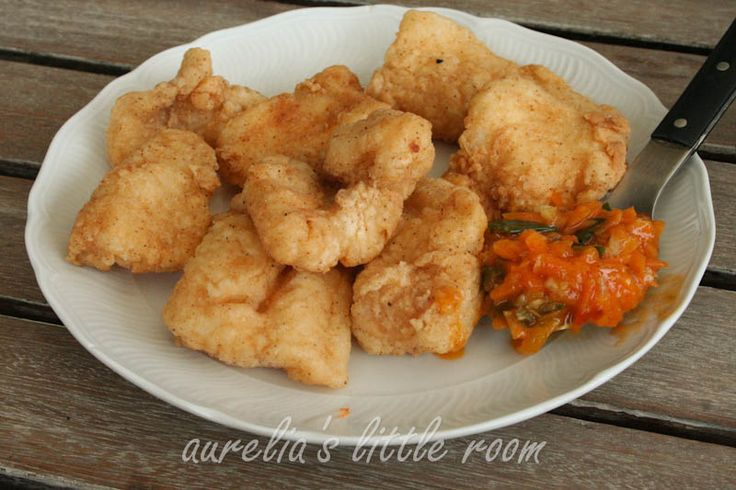 Asian Fish Fry With Spicy-Sweet Sauce Recipe — Dishmaps