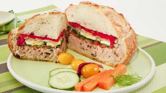 Pan Bagnat | Lunchables | Pinterest