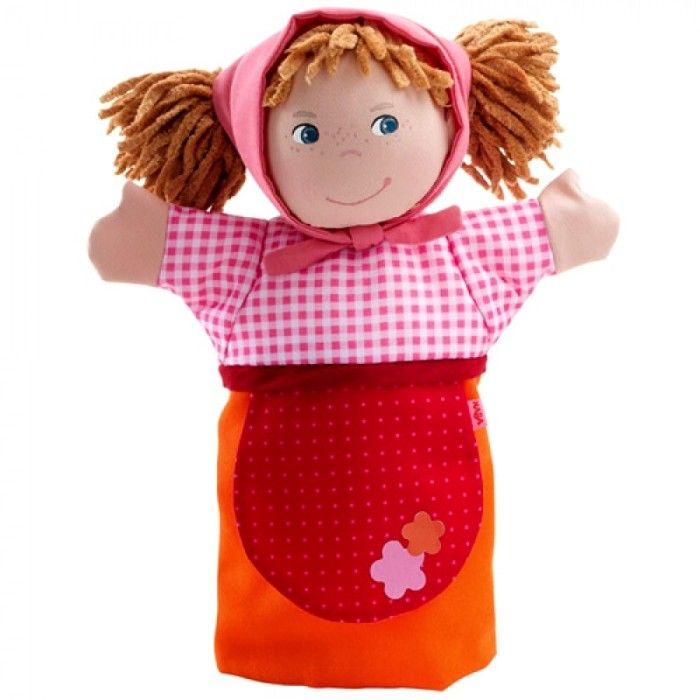 Перчаточная куклы связать крючком