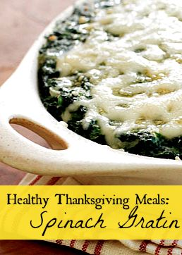 Makeover Spinach Gratin | Recipe