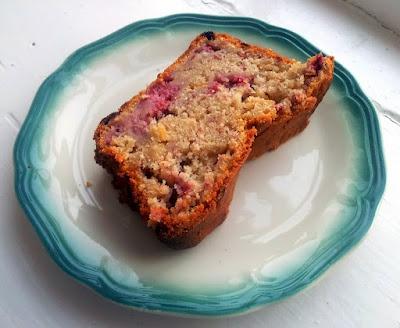 Raspberry Almond Bread Recipe — Dishmaps