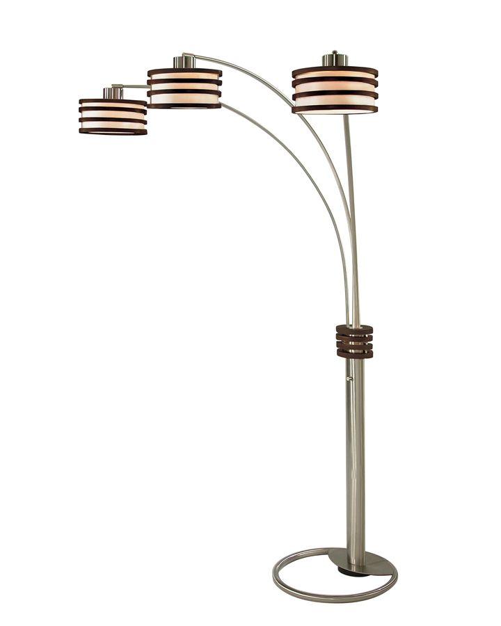 Arc floor lamp for task lighting interior lighting for Task lighting floor lamp