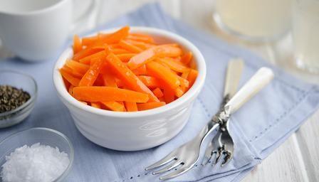 Ginger-glazed carrots | Recipe