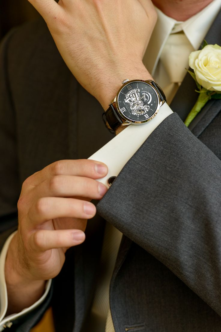 Wedding Gift Groom Watch : Grooms Gift: Skeleton Watch Wedding various Pinterest