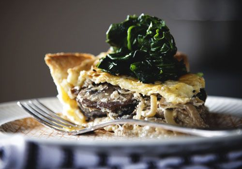 Mushroom Pie.... I'm making this for my birthday meal! :)
