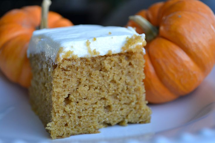 Fall Favorite: Pumpkin Bars with Extra Cream Cheese Frosting