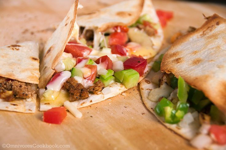 Homemade Mexican Chorizo and Colorful Quesadilla - Chorizo | Recipe
