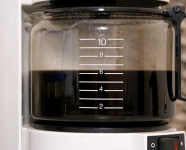 How to Clean a Coffee Pot Burner. I will be trying this today!!
