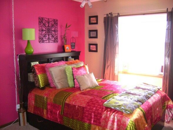 bold colors bedroom idea homestyle pinterest