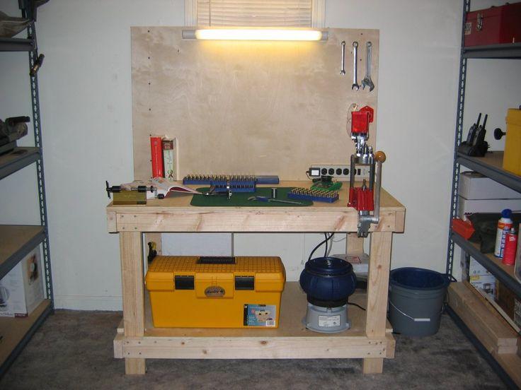 Diy Ammunition Reloading Bench Bang Pinterest