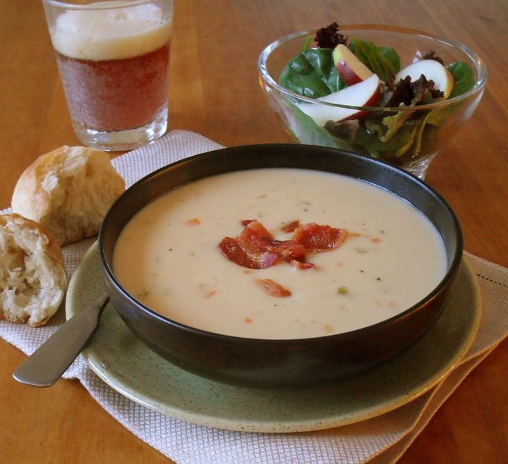 Cheddar Ale Soup | Like you need more recipes? | Pinterest