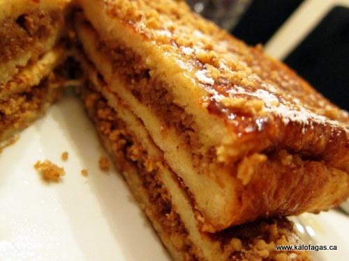 Baklava French Toast | Breakfast | Pinterest