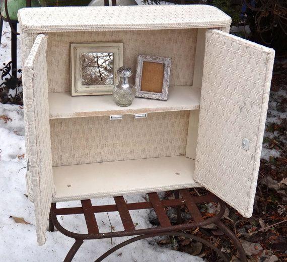 wicker bathroom cabinet vintage wicker shelf vintage medicine cabinet