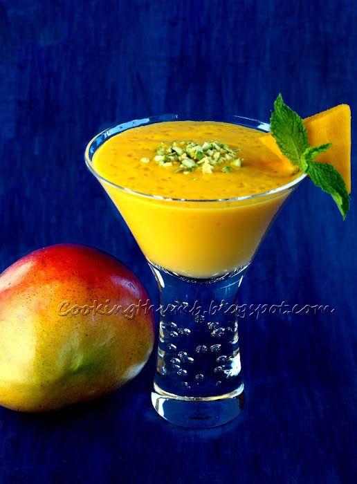 Mango Lassi yogurt base drink | Refreshing even healthy Drinks | Pint ...