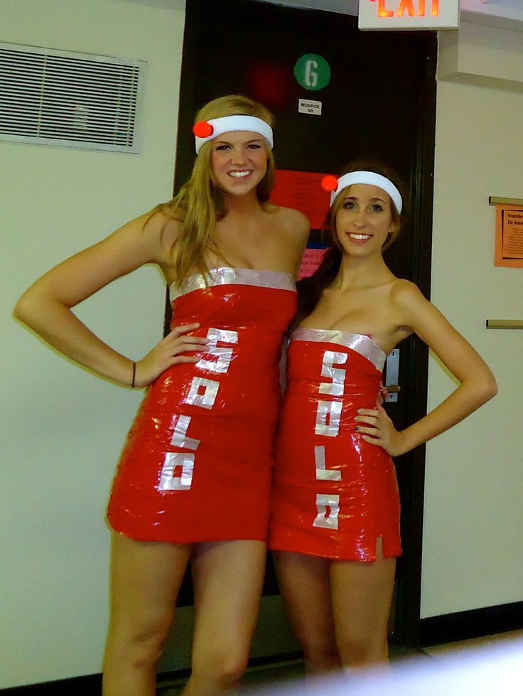 diy halloween duct tape dress bp girls just wrap your