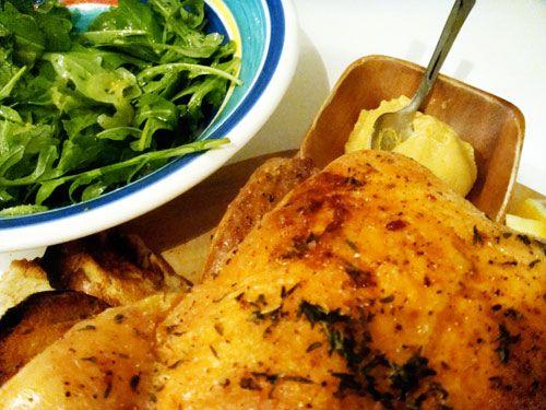 Thomas Keller's roast Chicken | Home Cookin' | Pinterest
