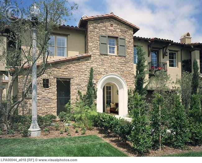 Exterior tuscan style home home sweet home pinterest - Tuscan home exterior ...