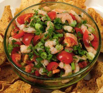 Shrimp Salsa | Variety of Food recipes | Pinterest