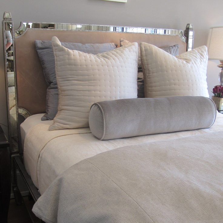 Mirrored Headboard From Oly Studio Bedroom Ideas Pinterest