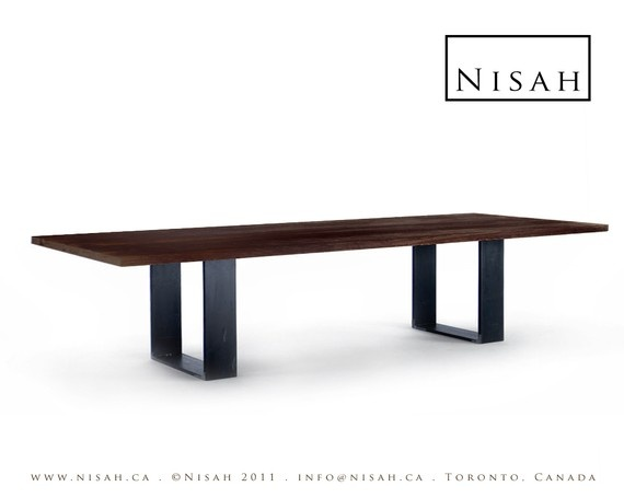 Etsy dining table canada from nisah dining room for Dining room tables etsy