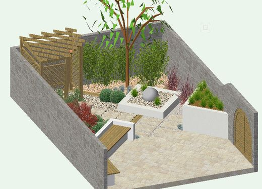 small garden houzz eden 39 s outdoor spaces pinterest