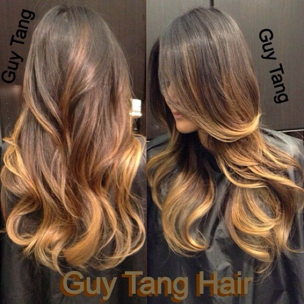 Ombre on dark hair by Guy Tang   We Know How To Do It