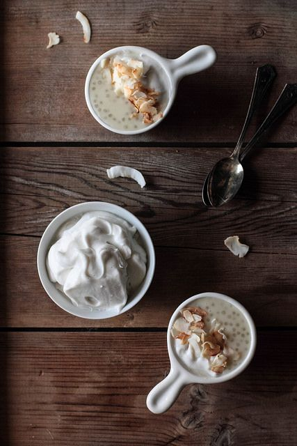 Coconut Tapioca Pudding by pastryaffair on Flickr.