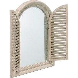 Fen tre wall mirror with shutters home pinterest for Fenetre javascript