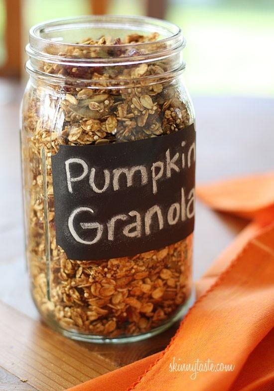 Easy Pumpkin Spice Granola