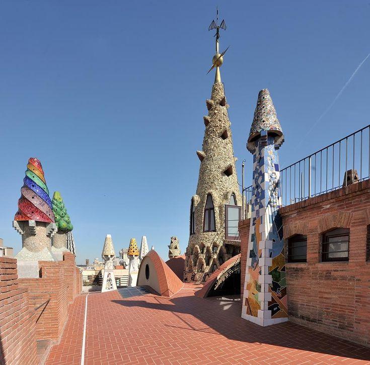 Palau Güell  Gaudi  Pinterest