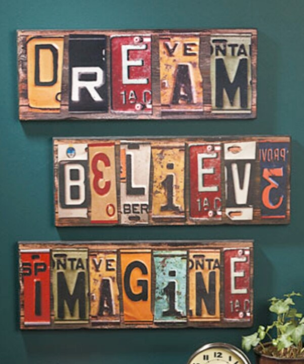 License Plate Upcycle | Repurposing / upcycling | Pinterest