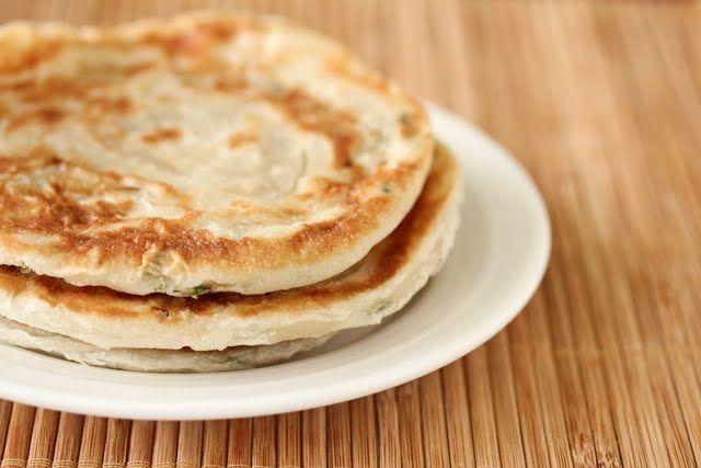 Scallion pancakes | food | main dish | Pinterest