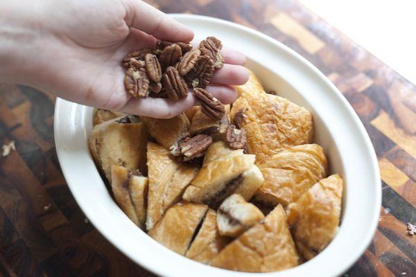 Nutella Bread Pudding | Recipe