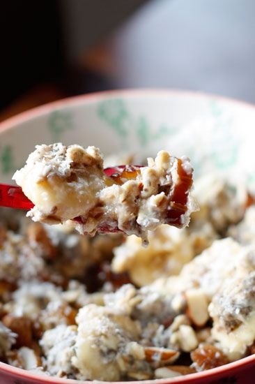 Cocoa Nib & Pomegranate Overnight Oats Recipe — Dishmaps