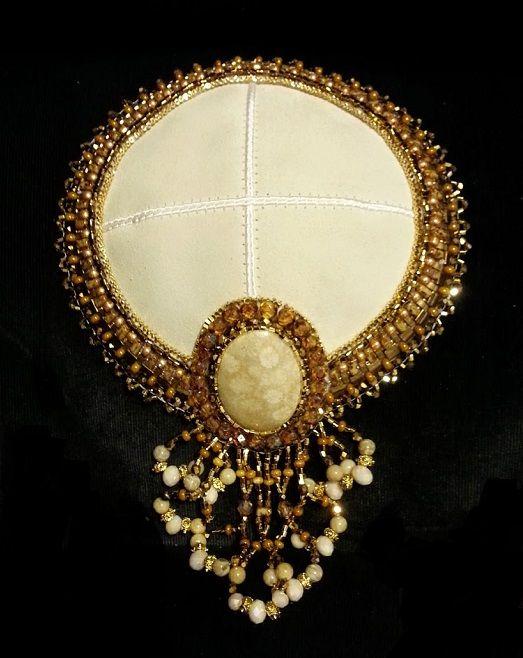 beaded kippah exles of my jewelry
