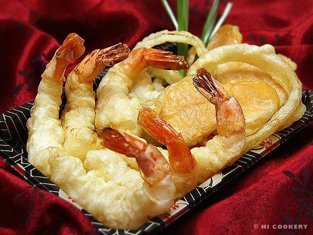 comfort food, shrimp and vegetable tempura, on National Tempura ...