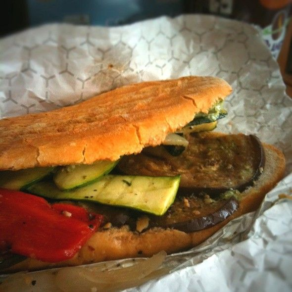 Grilled Veggie Panini | Yumm | Pinterest