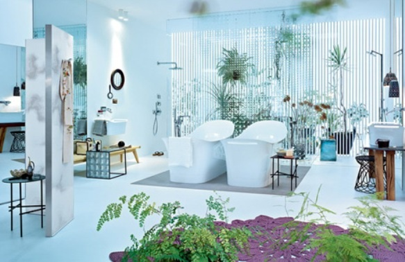 Bathroom Garden With His And Hers Tubs Bed Bath And Beyond Pinter