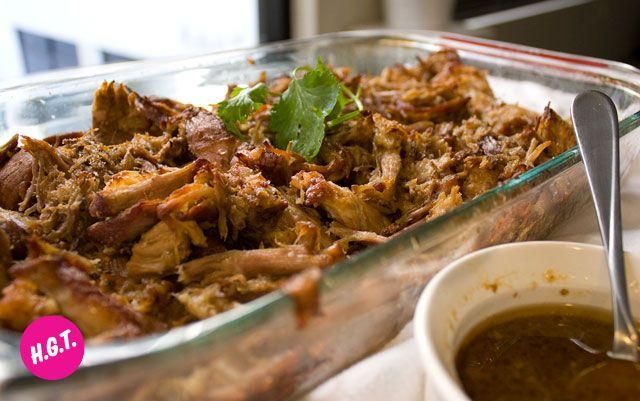 Mexican Style Tacos de Carnitas (Crispy Pulled Pork Tacos) - Happy ...