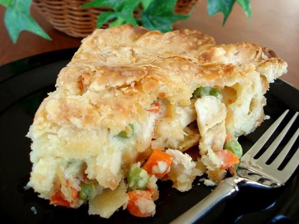 """Chicken Dinner Pot Pie: """"Yum! The whole family loved this recipe! I ..."""