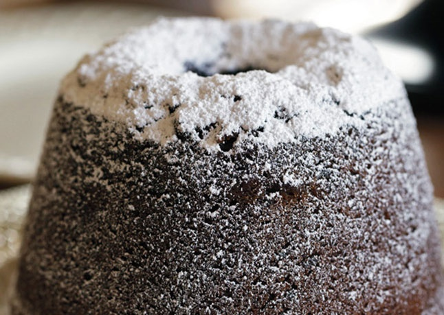 Ginger Spice Cake with Dried Cherries | Recipe