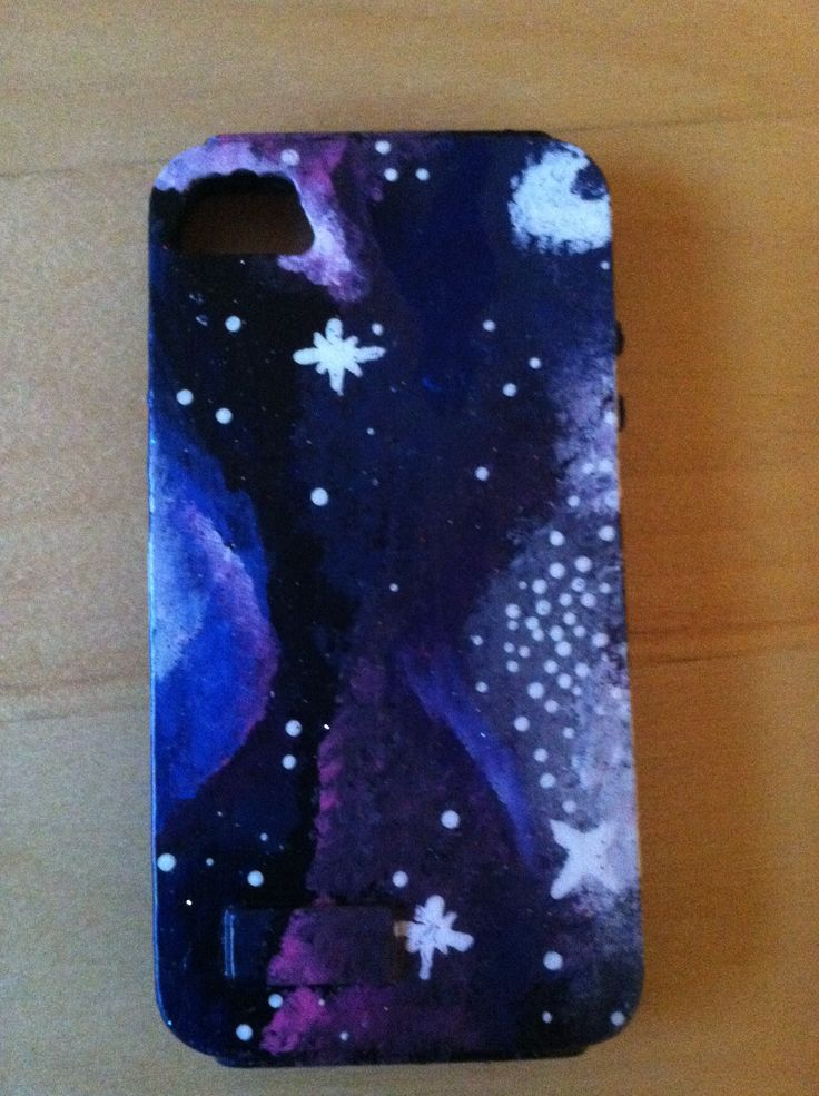 Diy galaxy phone case galaxy clothing and accessories for Diy mobile phone case
