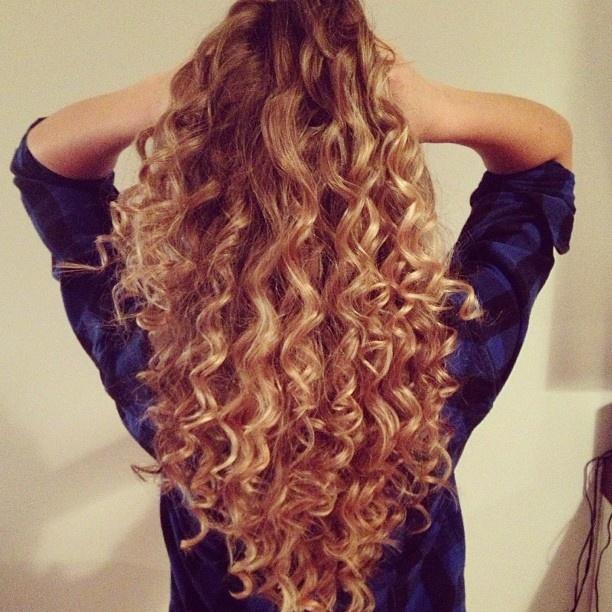 Wand curls hair love pinterest